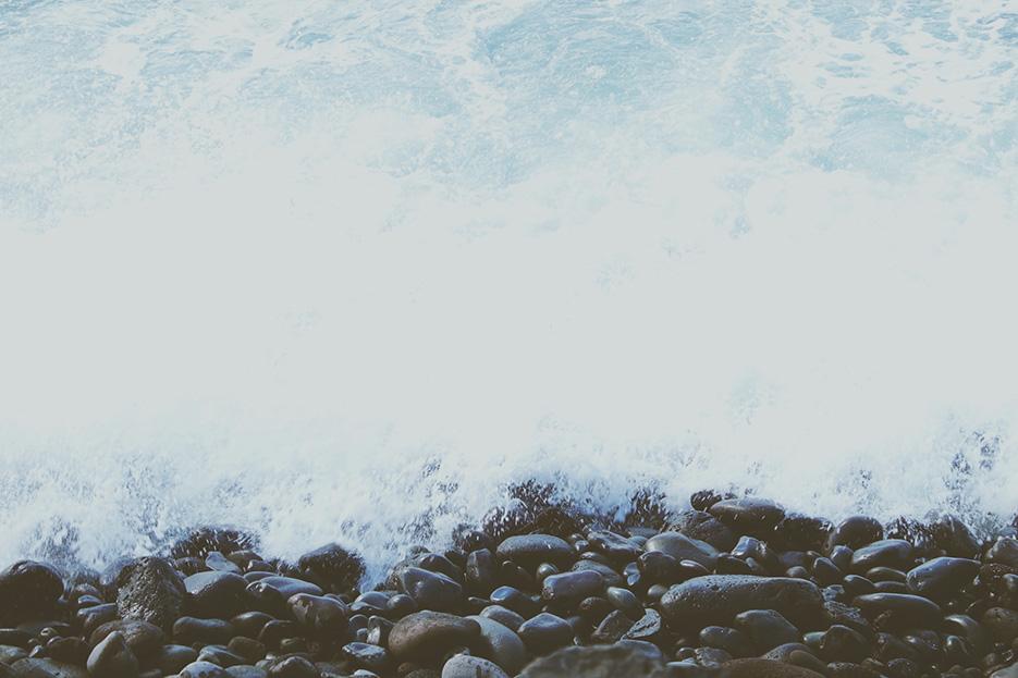 I looove the ocean, it's always calming me down.